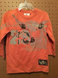 CR Toddler Longhorn Tee