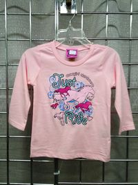 "Cowgirl Hardware ""Just Ride"" Tee"