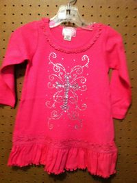 Cowgirl Hardware Infant Ruffle Dress With Bling