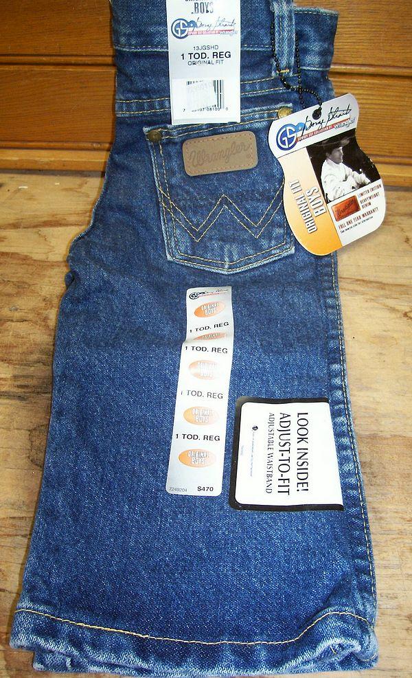 a1a375d312e Wrangler George Strait Toddler Boys Cowboy Cut Jeans