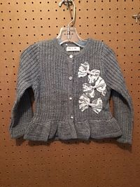 Mae Li Toddler Grey Cardigan