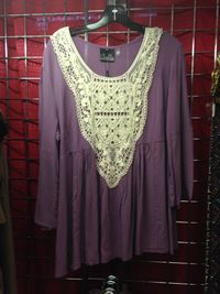 Noelle Lace Front Tunic
