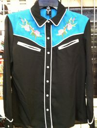 Ravel Retro Long Sleeve Western