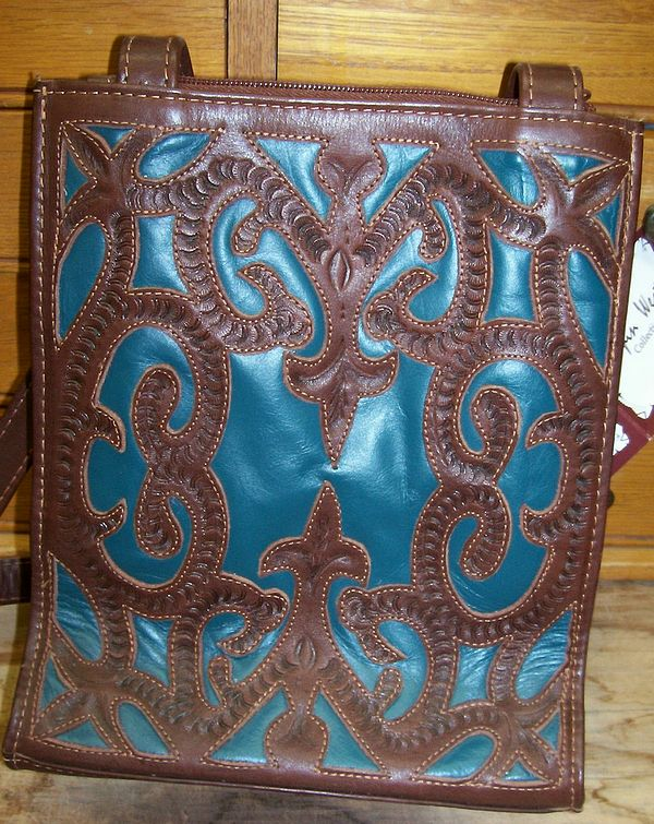 Ropin West Two Tone Tote