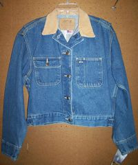 Schaefer Crop Denim Jacket
